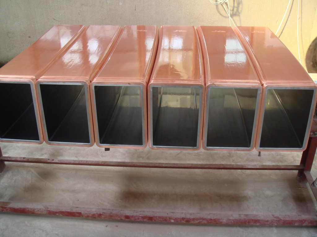 Crystallizer Copper Mould Tubes